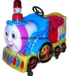 Качалки в виде поездов