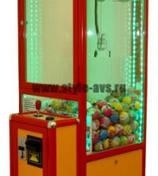 Развлекательные кран-машины, призовые автоматы